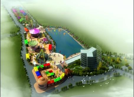 北京动物园海洋天地嘉年华乐园设计规划完稿